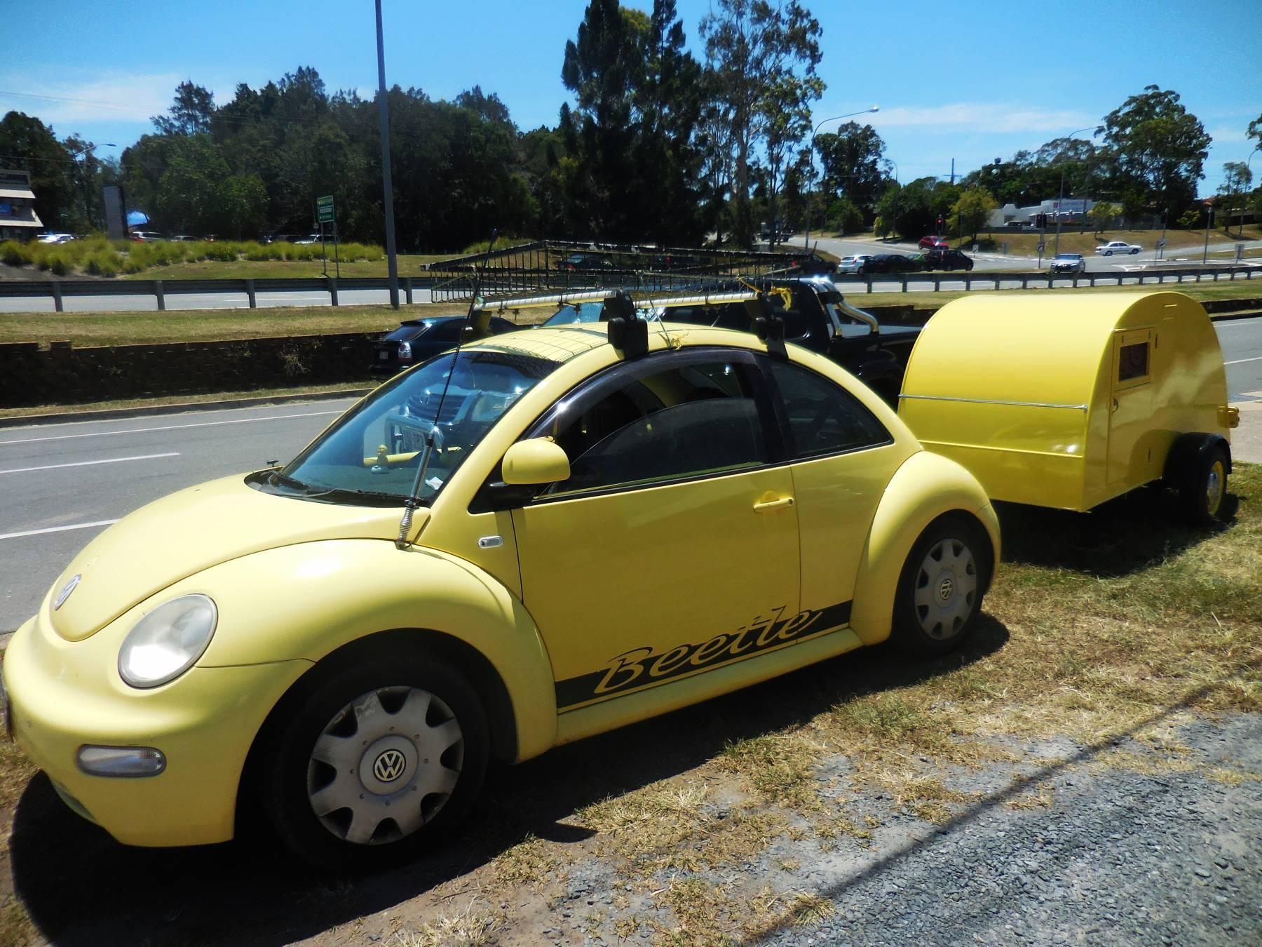 Little Yellow Trailer Amp Beetle